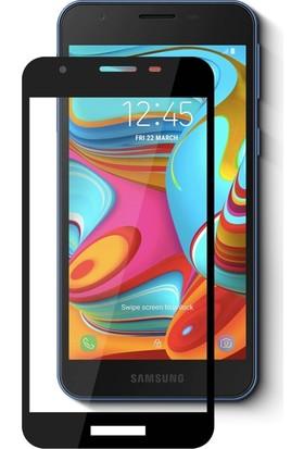 Quse Samsung Galaxy A2 Core Tam Kaplayan 5D Ekran Koruyucu Nano Esnek Cam