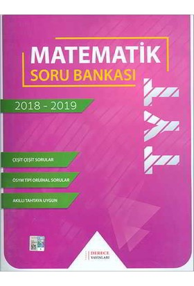 Derece Yayınları TYT Matematik Soru Bankası 2020-2021
