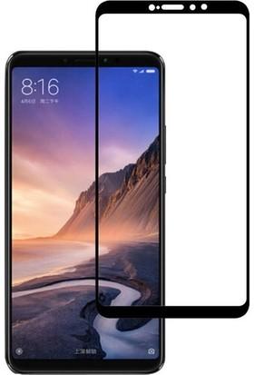 Eiroo Xiaomi Mi Max 3 Curve Tempered Glass Full Siyah Cam Ekran Koruyucu