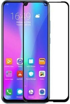 Eiroo Honor 10 Lite Curve Tempered Glass Full Siyah Cam Ekran Koruyucu