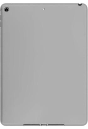 """Essleena Windys Apple iPad Pro 10.5 (2017) 10.5"""" (A1701/A1709/A1852) Kılıf Soft Mat Rubber Silikon Koruma Beyaz"""
