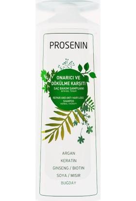 Prosenin Onarıcı ve Dökülme Karşıtı Saç Bakım Şampuanı 300 ml