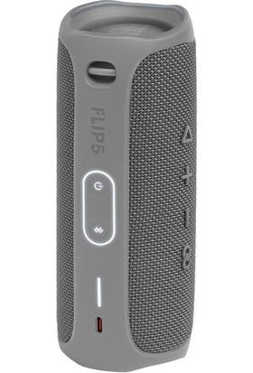 JBL Flip 5 Taşınabilir IPX7 Su Geçirmez Bluetooth Hoparlör Gri