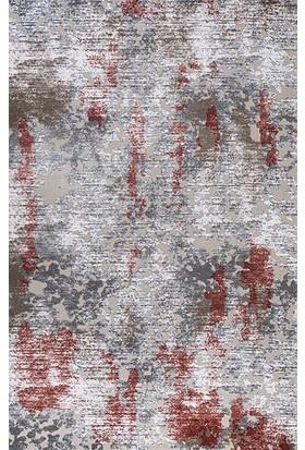 Patika Halı Larut 1507A Kırmızı Kesme Yolluk 100 x 200 cm