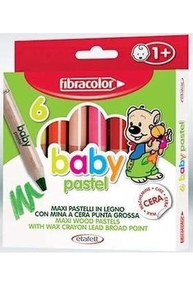 Fibracolor Baby Pastel 6 Renk 1 Yaştan İtibaren Kullanılabilir