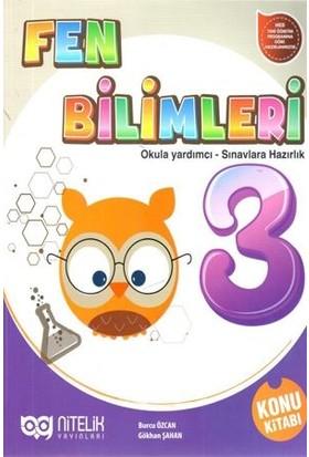 Nitelik 3. Sınıf Fen Bilimleri Konu Kitabı