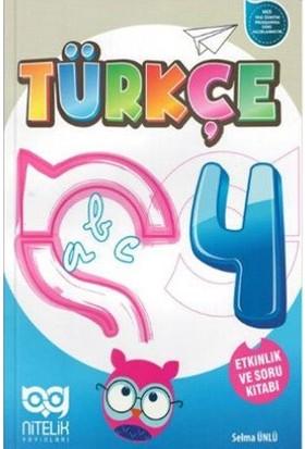 Nitelik 4. Sınıf Türkçe Etkinlik ve Soru Kitabı