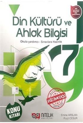 Nitelik 7. Sınıf Din Kültürü ve Ahlak Bilgisi Konu Kitabı - Emine Arslan, Raşit Cesur
