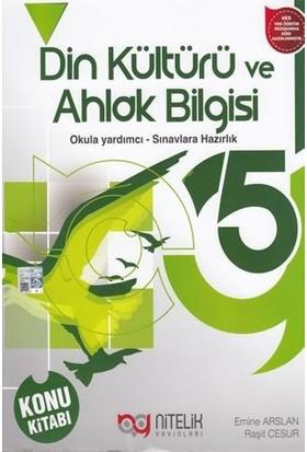 Nitelik 5. Sınıf Din Kültürü ve Ahlak Bilgisi Konu Kitabı