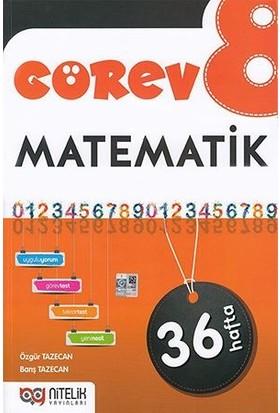 Nitelik 8. Sınıf Görev Matematik Soru Bankası - Barış Tazecan, Özgür Tazecan