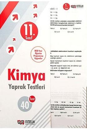 Nitelik Yayınları 11. Sınıf Kimya Yaprak Test