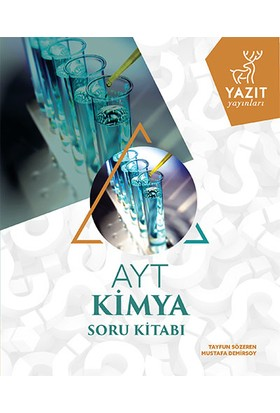 Yazıt Yayınları AYT Kimya Soru Kitabı - Tayfun Sözeren