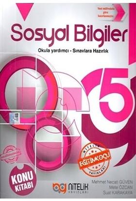 Nitelik Yayınları 5. Sınıf Sosyal Bilgiler Konu Kitabı - Mehmet Necati Güven