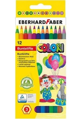 Eberhard Faber Colori Kuru Boya Kalem Seti 12Li 3Mm 514814