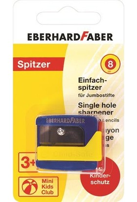 Eberhard Faber Jumbo Kalemtraş 8Mm Mine İçin Blisterli