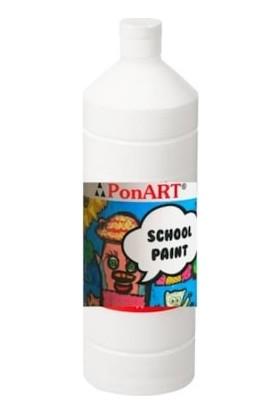 Ponart School Paint Okul Boyası 1000 Ml. Açık Kırmızı