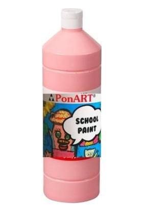 Ponart School Paint Okul Boyası 1000 Ml. Pembe