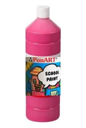 Ponart School Paint Okul Boyası 1000 Ml. Şeker Pembe