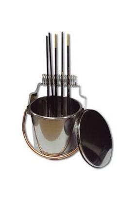Ponart Fırça Yıkama Kabı Çelik A15067
