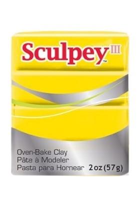 Sculpey III Polimer Kil 072 Yellow (Sarı)