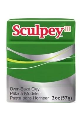 Sculpey III Polimer Kil 322 Leaf Green (Yaprak Yeşili)
