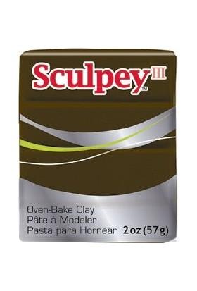 Sculpey III Polimer Kil 1109 Suede Brown (Suede Kahve)