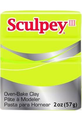 Sculpey III Polimer Kil 534 Acid Yellow