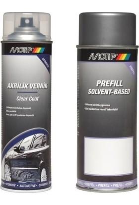 Motip Peugeot Kod:Ecd Volkanik Kirmizi Sprey Rötuş Boya Seti