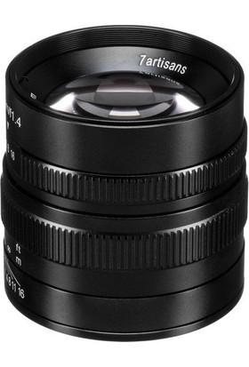 7artisans 55mm F/1.4 APS-C Manual Fixed Lens (M43-Panasonic Olympus Mount)