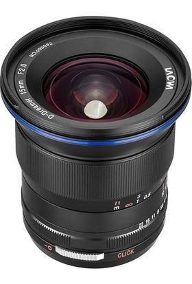 Laowa Venus 15mm f/2 FE Zero-D Lens Nikon (Z-Mount)