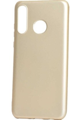Casestore Huawei Honor 20 Lite Kılıf Priming Mat TPU Silikon Arka Kapak Kılıf Gold