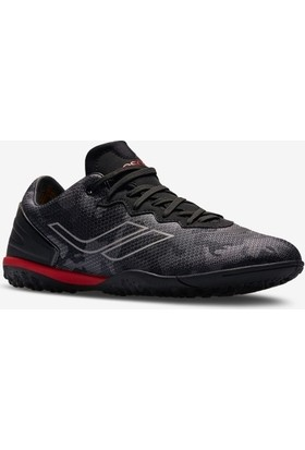 Lescon THOR-016 H-19N Erkek Halı Saha Ayakkabı Siyah