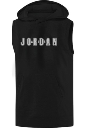 Air Jordan Sleeveless Kapüşonlu Sweatshirt