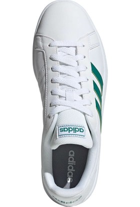 Adidas Grand Court Base Beyaz Erkek Sneaker Ayakkabı