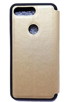 Mopal General Mobile GM9 Pro Magnum Pencereli Kılıf Altın