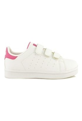 M.P 192-5466-006 Ft Beyaz Pembe Çocuk Ayakkabı