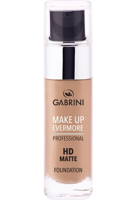 Gabrini Professional Hd Matte Foundation 02