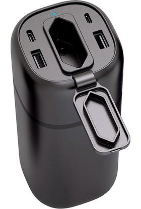 RAVPower RP-PB105 20100 mAh AC Taşınabilir Şarj Cihazı Powerbank Siyah 65-02000-221