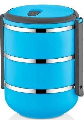 Freshbox Sızdırmaz 2.5 Litre Yeni Nesil 3lü Saklama Kabı Sefer Tası- Yemek Termosu