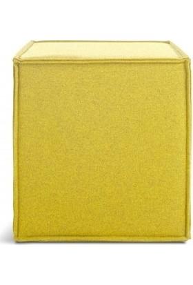 Archi Ahşap Atölyesi Puf Kube Yellow