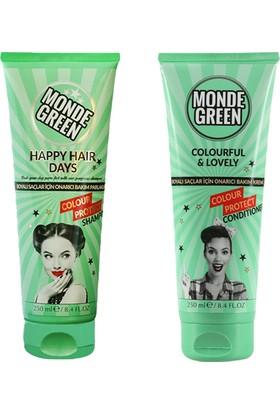 Monde Green Renk Koruyucu Şampuan ve Krem Seti