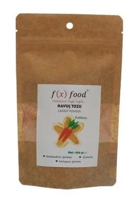 Fx Food Havuç Tozu 100 gr
