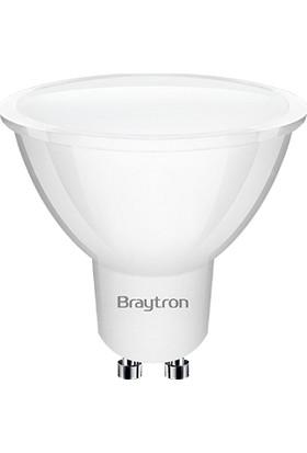 Braytron 5W GU10 Duylu Starter Ayak 3000K Gün Işığı BA24-00550