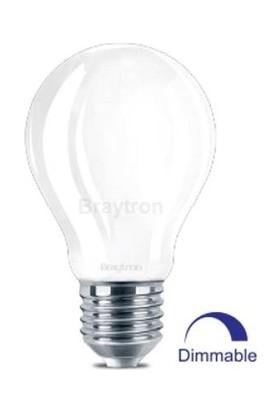 Dim Edilebilir Cam LED Ampul 7 W 2700K Sarı Işık Braytron - BA38-90720