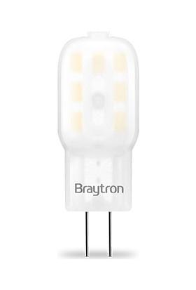 G4 LED Ampül 1,5 W 12V 6500K Beyaz Işık Braytron - BA29-30243