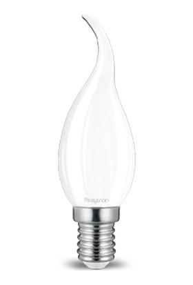 Kıvrık Buji Ince Duylu LED Ampul Cam 4 W E-14 6500K Beyaz Işık Braytron - BA36-35413
