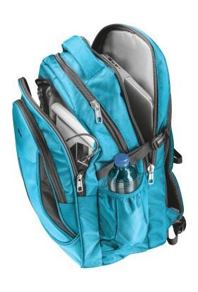 """Trust 22857 Lima 16"""" Notebook Laptop Sırt Çantası Mavi"""