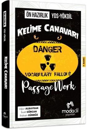 Passagework YDS-YÖKDİL Ön Hazırlık Kelime Canavarı Modadil Yayınları - Rıdvan Gürbüz - Suat Gürcan