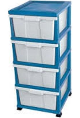 Elif Plastik Komidin Plastik Komodin Plastik Sebzelik Mavi