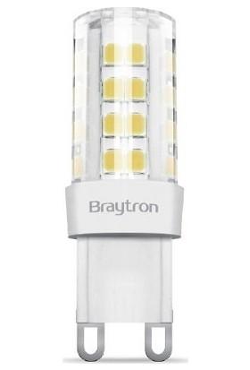 Braytron Ampul Led Kapsül Braytron G9 4W 6500K Beyaz Işık Ba29-00493